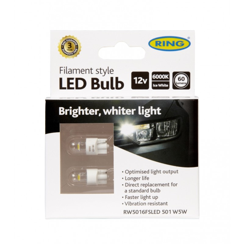 Gloeidraad LED RW5016FSLED 501 W5W