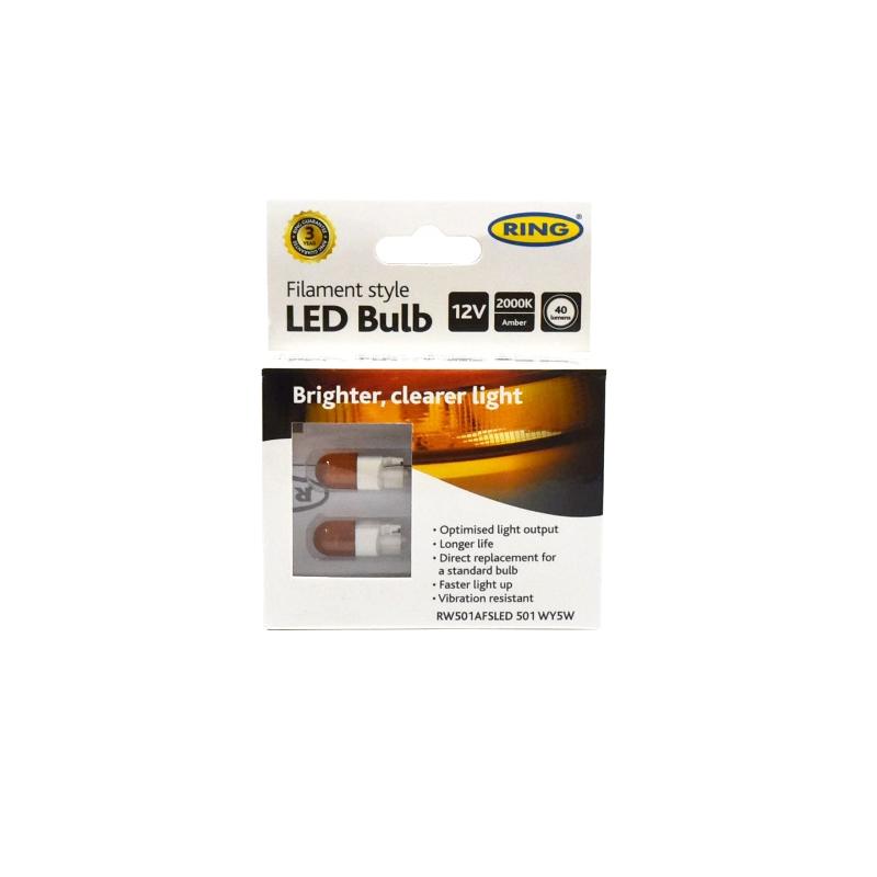 Gloeidraad LED RW501AFSLED 501 WY5W